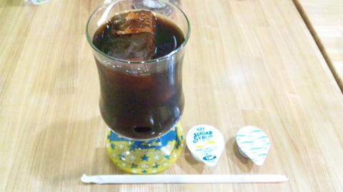 喫茶ぐり:④チャンポン付アイスコーヒー131124