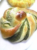 かばのパン:?抹茶あんぱん120円100624
