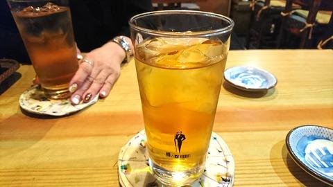亀寿司:②ウーロンハイ191103