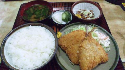 常盤仙食堂:①日替580納豆80全141106