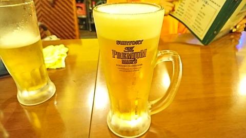 シータラ:②生ビール480円190911