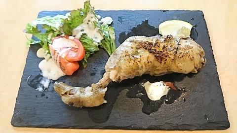 たけ:①錦爽鶏のコンフィ1280円190706
