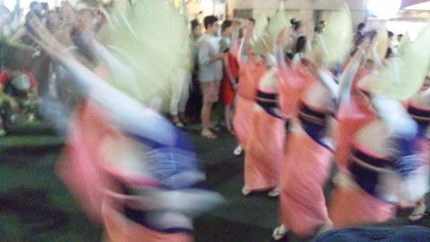 神楽坂阿波踊り65ひょっとこ連160729