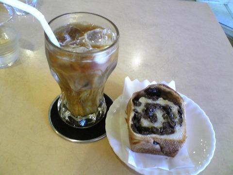 舞い鶴:?ぶどうパンとコーヒーセット550全100805