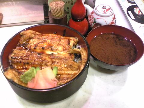 喜久鮨:②極上穴子丼1850円全景101031