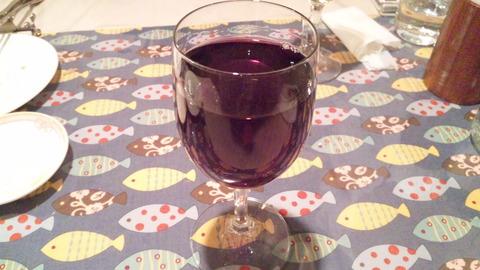 リエーブル:④ハウスワイン赤グラス131123
