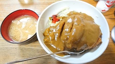河金:①河金丼750とん汁100円181111