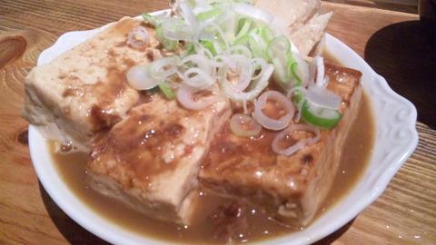 大統領支店:⑥豆腐だけの煮込み420円110827