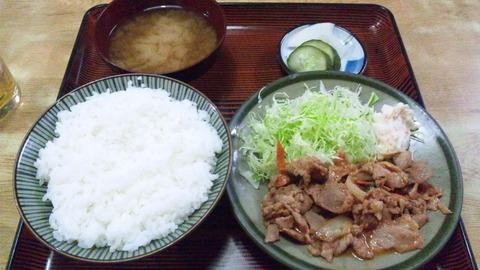 常盤仙食堂:①日替り定食580全151001