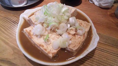 大統領支店:⑨煮込みの豆腐だけ420円110809