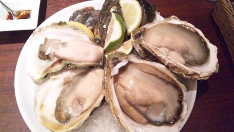 ガンボ&オイスターバー:①岩牡蠣皿140907