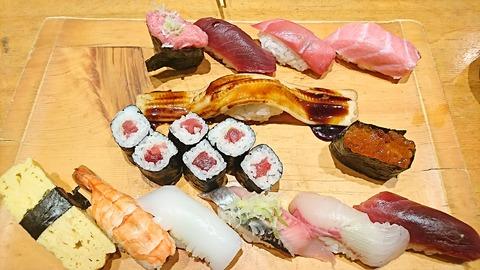 日本海:①上寿司1360マグロ910円181202