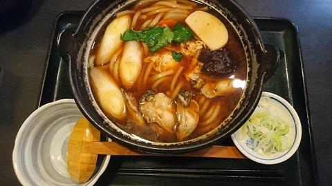 ぶんぶく庵:①味噌カキ鍋う1200円171212