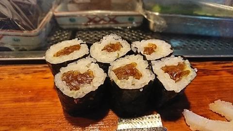 常寿司:⑤干瓢巻190105