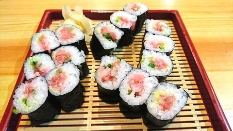 亀寿司:⑨ネギトロ巻650円191103