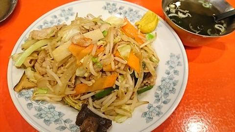 錦:①しょうゆ焼麺700円181201