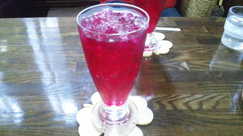 しゃん:①自家製赤紫蘇ジュース500全150725