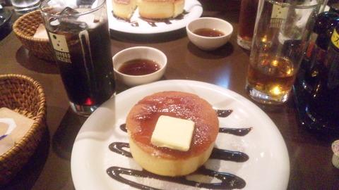サニーズ:①ホットケーキ550アイスコーヒー250全160319