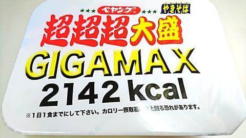 超超超大盛GIGAMAX:①箱姿180714