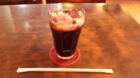 喫茶ペロケ:②セットのアイスコーヒー110514