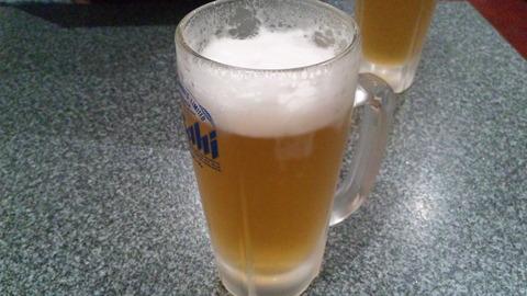 藤龍:②生ビール500円150417