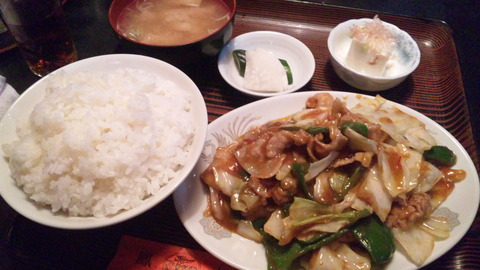 鳳来:①F定食770円全景160830