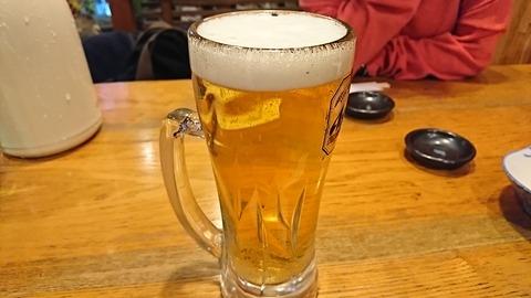 奈可川:②生ビールセット950円191225