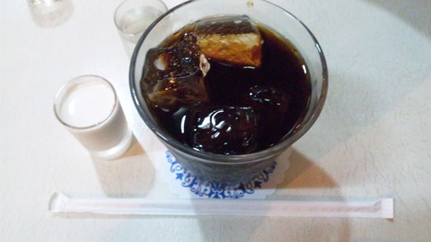 モンブラン:①アイスコーヒー600円全景120909