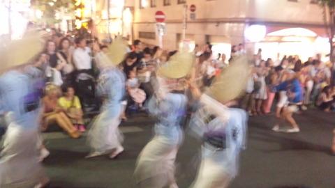 神楽坂阿波踊り26粋輦160729
