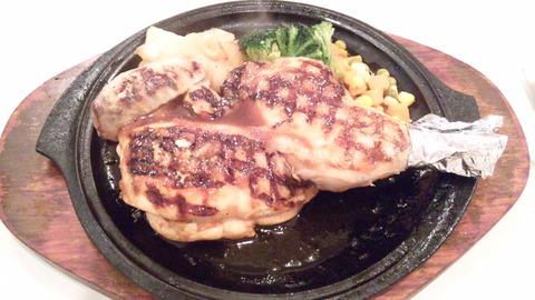 グリルさんばん:①若鶏の半割り網焼き850全120229