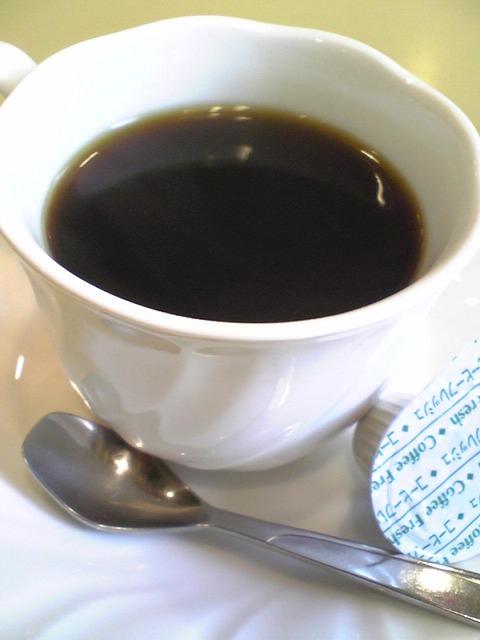 喫茶とみー:?モーニングブレンド300円100806