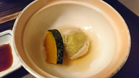 熱海④:09蒸し物オクラ食べた後190925