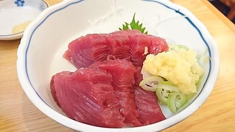 水口食堂:①初鰹刺身800円180520