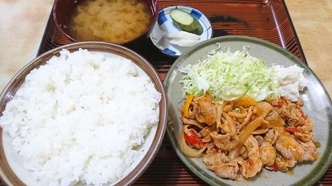常盤仙食堂:①日替り定食600円191202