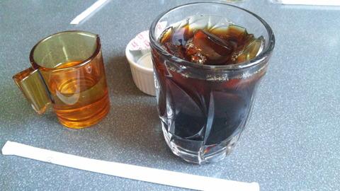 紫園:①アイスコーヒー350円160430