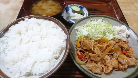 常盤仙食堂:⑧日替り定食600円191202