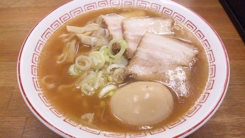喜多方食堂:①蔵出シショウユ600味玉100161106