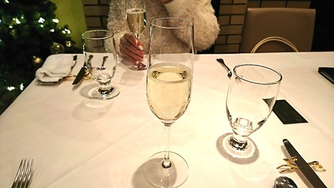 バンキーナ:⑤乾杯スパークリングワイン191221