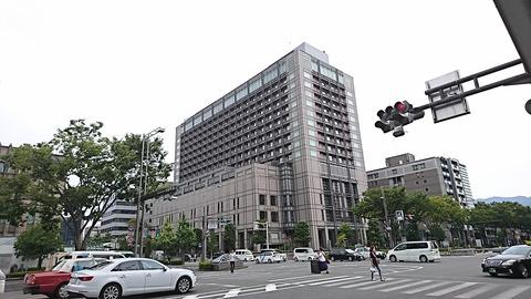 ピトレスク:店①京都ホテルオークラ外観190826