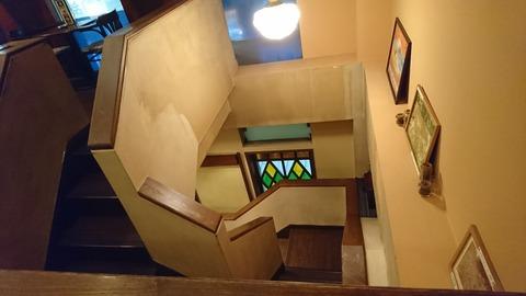 ハロー:店②2階から見下ろす171201