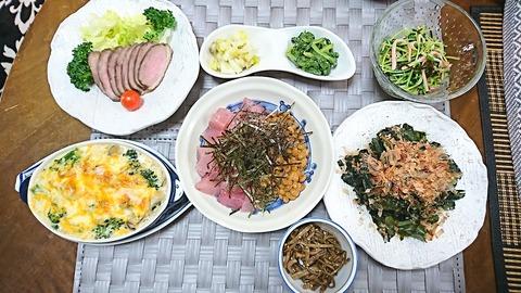 家ご飯10:①肴7品210107