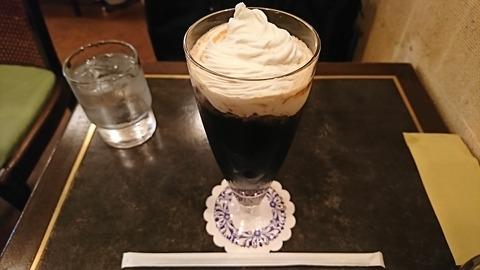 キングストン:①アイスウインナーコーヒー700円190614