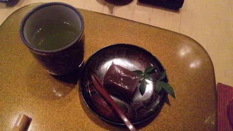 清寿司:⑤雪コース3800円自家製デザート110503
