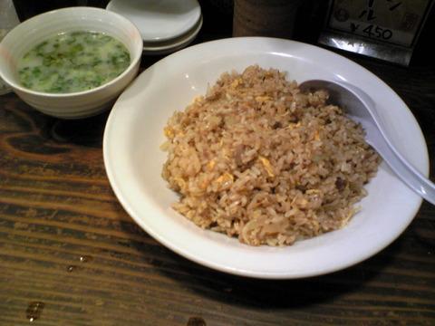 アジアン本舗餃子:②にんにく炒飯大盛850全100913