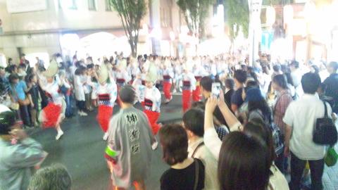 神楽坂阿波踊り09JCHO東京メディカルC連160729