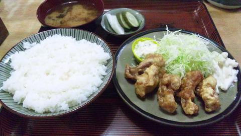 常盤仙食堂:①日替り定食580全景150916