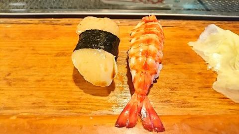 常寿司:⑪タイラギ車海老190105