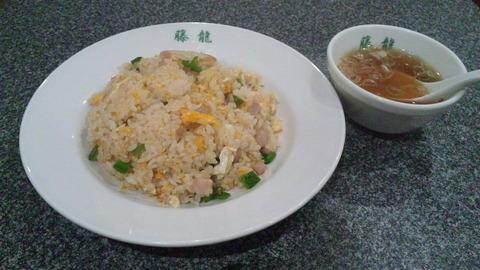 藤龍:②上海肉炒飯750円全景120815