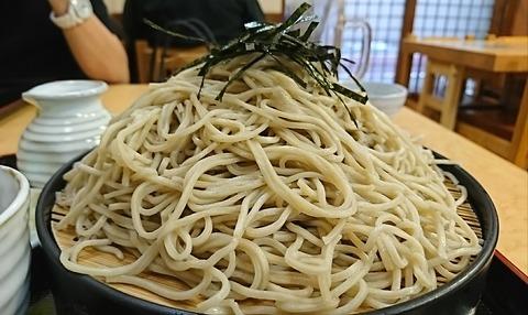 白樺:⑬もり蕎麦大盛横景カツ丼190618