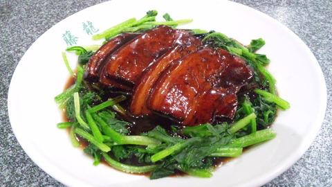 藤龍:①豚肉の角煮950円150831